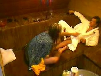 Big Brother Czech Oral Sex In Sauna