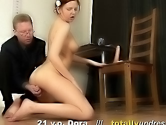 Fuck interview and orgasm