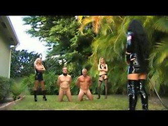Dominatrix Nut Busting