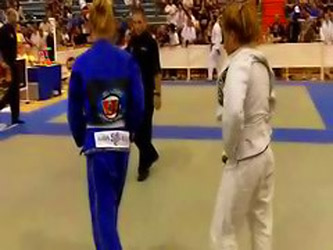 2nd Southwest BJJ Classic Jenni Monroe vs Carrie Lipn...