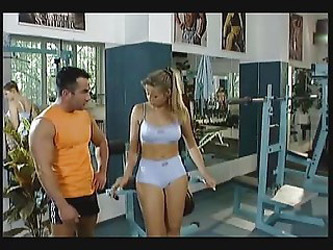Hot Gym Workout Fg09