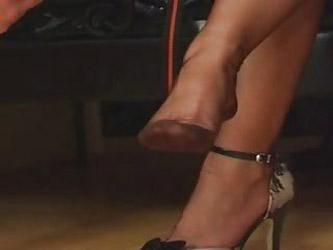 Fully Fashioned Nylon Stockings Foot Worship