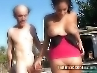 Old Man Fucks Sweet Teen