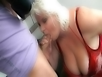 Busty Bbw Is Doggystyled After P...