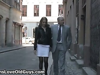 Dirty old man loves to have fun
