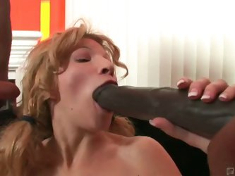 Teen blonde bimbo kella craves monster cocks
