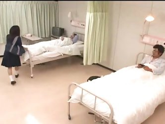 Teen Girl visit her Boyfriend At Hospital 3