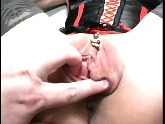 Granny whore gets fisted and toy fucked!