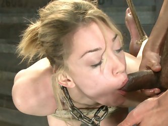 Bondage kink and anal fisting