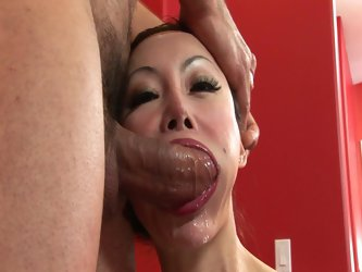 Sexy asian milf angie venus gets fucked hard