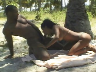 Exotic brazilian slut fucked hardcore outdoors