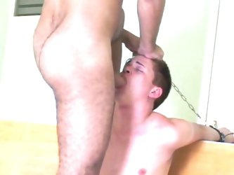 Used and abused cute twink with hot daddy