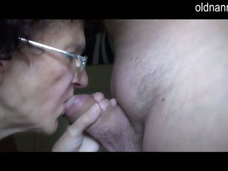 Hd old granny and young girl handjob and blowjob