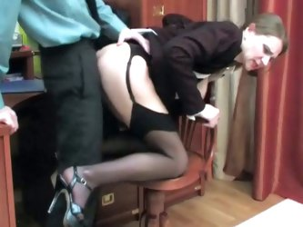 Milf caught masturbating sucks cock and gets nailed