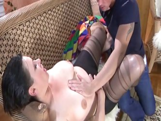 Milf babe loves fucking her victims on by one