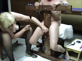 CBT Cock Whipping Cum Glory Hole Ms. Sadie Tortures