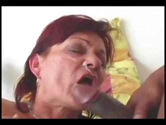 Mature-Granny Facial Compilation