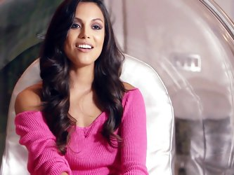 Desirable chick Raquel Pomplun is naked for you