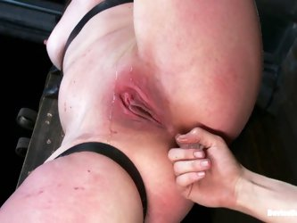 Hot Sarah Shevon gets whipped and toyed rough