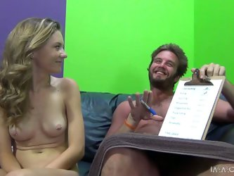 Alison Faye toys her pussy and gets it fucked remarcably well
