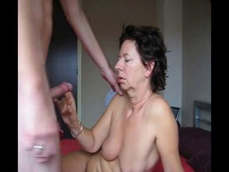 German mature wife not the happiest camper