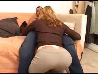 blonde milf fuck by 2 guys