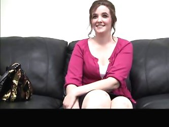 Cutie gets rectal during casting