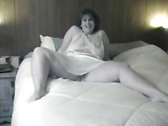 Hot homemade sex tape of a horny couple boinking in their bedroom