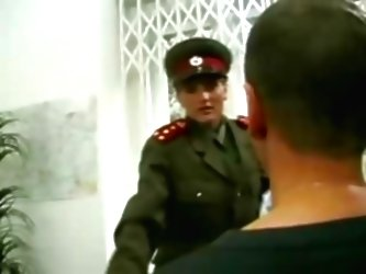 Kgb Military Girl Fucks Recruit...