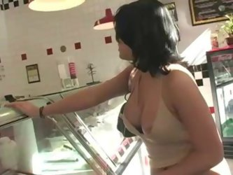 Busty Girl Pretending Accidental nipple slip by MustBePublic