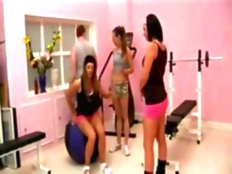 Bad Teens In The Gym