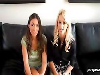 Lizz Tayler And Erica Fontes In An Interview With Clips Of Work
