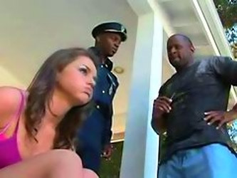 Cop Punishes Hot Teen