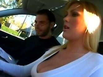 Stupid blonde gets fucked by her instructor (Brazzers Tì Baby Got Boobs)