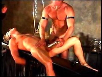 Cbt Extreme Vac Pumping Of Hot Musc Smooth Blonde By Big Muscular Hot Bear.