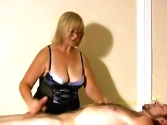 Big Titted Professional Masseuse...