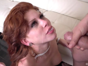 Nothing is good for Brooklyn Lee like dude's sperm in her mouth