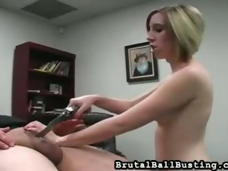 Office Facesitting and Ballbusting