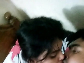 Desi Bangla couple hot sex in room and taking self video