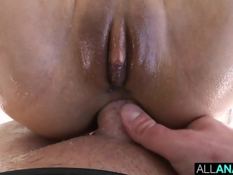 Anal threeway with Cassie and Nelly