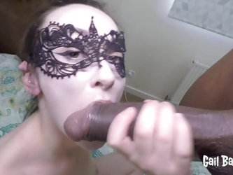 Cheating Girlfriend Blindfolded and Shared With BBC Monster Black Cock