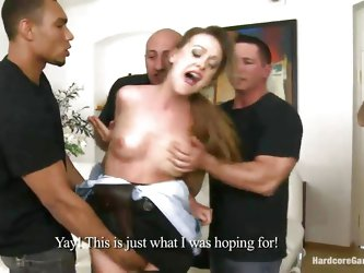 She's a very sexy police officer but has a nasty attitude. All those big tickets she gave and that bossy way of doing things made these guys angr