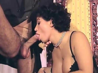 Vintage Anal Orgy In Nylons