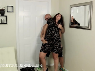Amazing big tits slutty mom