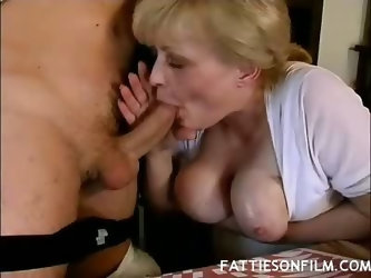 Fat Mature Tits Tease