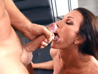 Shay Sights is just another cock hungry MILF who likes hard sex and that's it. Her tall partner Keiran Lee knows how to handle this superb lady.