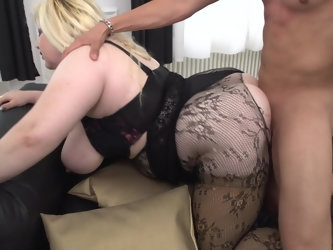 BBW Rosemary likes it when she gets fucked in different poses