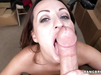 Meet Vanessa, a very slutty mom that loves big hard cocks. I have a dong just for her and because she bended over like a cheap slut and then sucked me