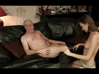Pretty Girl Gets Banged By A Old, Dodgy Looking Man