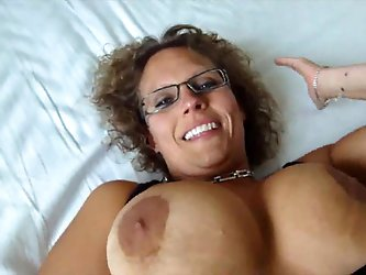 Danish Amateur Mette having Fun